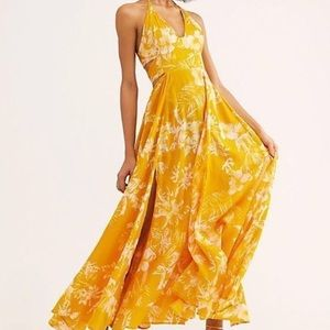 NWT FREE PEOPLE Lillie maxi dress